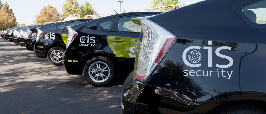 CIS Security vehicle fleet